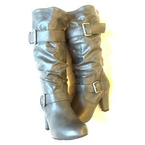 Xhilaration Shoes - Xhilaration fashion heeled boots size 6.5