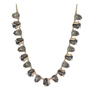 Shimmering Adjustable Necklace with Rhinestones