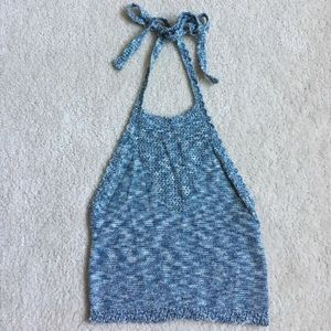 NWT Knit halter top