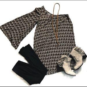 Zara TRF Collection long blouse/mini dress
