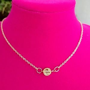 New gold choker necklace under 25