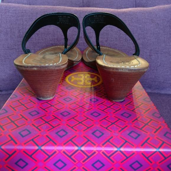 Tory Burch Shoes - Tory Burch Wedge Thong