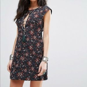 NEW Free People Say Yes mini dress