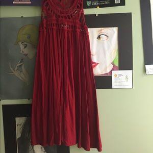 Red Tunic or Mini Dress