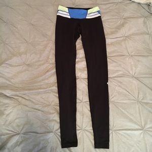 Lululemon Wunder Under pant- cute waistband