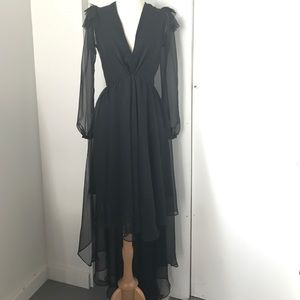 couture black dress