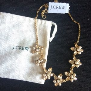 ✨NWT J. Crew Pearl & Jewel Necklace