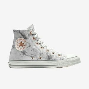 Limited Edition Marble and rose Gold Converse