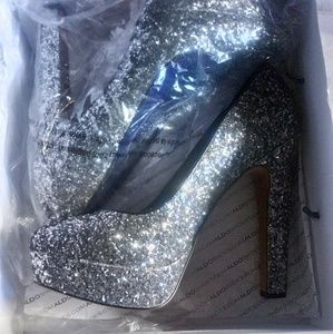 Aldo Silver High Heels