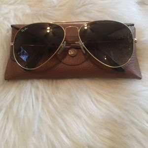 Aviator ray ban sunglasses