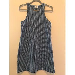 Zara check mini dress