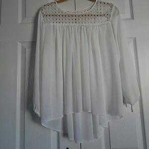 Flutter Lace blouse