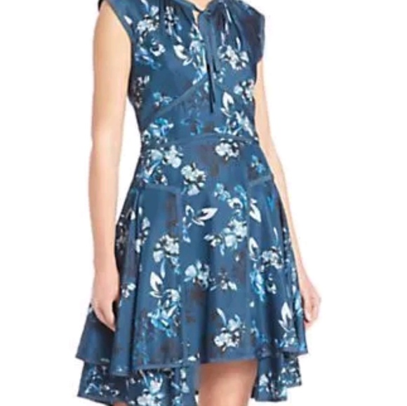 0e08b5b1cc89 Zac Posen Dresses | Zac Fit And Flare Floral Dress | Poshmark
