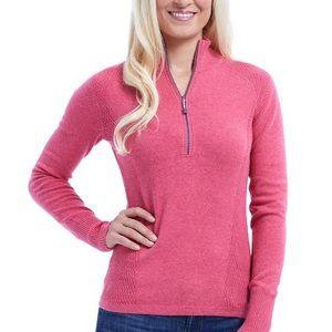 Eddie Bauer 1/4 Zip Sweater sz Large