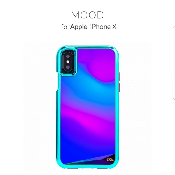 purchase cheap f3de0 a3f63 NWT iPhone X mood changing case 😁 NWT