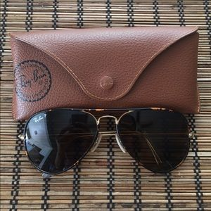 POLARIZED Ray-Ban aviators