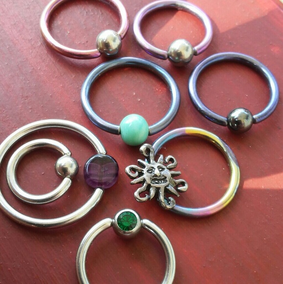 New 18g Earring Or Bellybutton Belly Rings