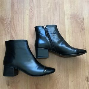 Zara Trafaluc black booties