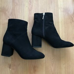 Zara trafaluc black ankle boots