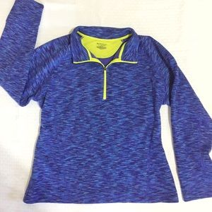 •Tek Gear• XL Fleece Lined Quarter Zip Pullover