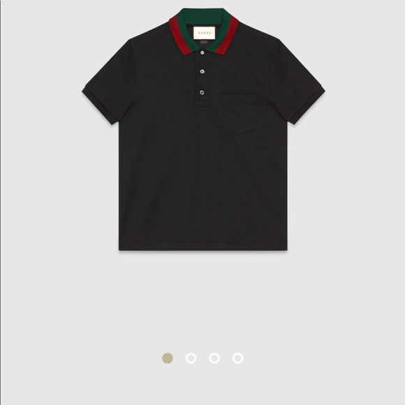 9036c3e09568 Gucci Shirts | Mens Web Collar Polo | Poshmark