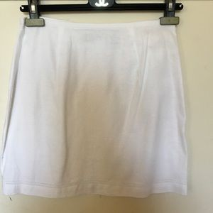 Express 100 % linen 5/6 straight skirt