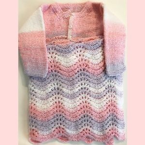 Other - Baby Sweater & blanket