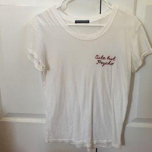 Brandy Melville Cute But Psycho tshirt