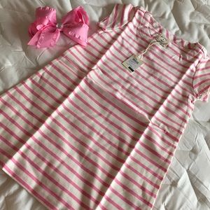 🌸JOULES gorgeous striped dress NWT size 5-6🌸