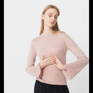 Mango Flared Sleeve Sweater
