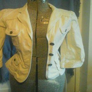 Ann Taylor MP Khaki Jacket