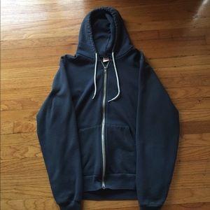 American Apparel Flex Fleece Zip Hoodie