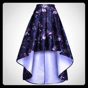 NWT High-Low Full Skirt