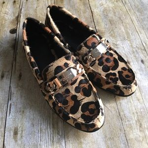 Coach Kimmie Loafer in Wild Beast Calf Hair