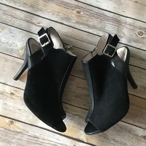 Vince Camuto Leather Heels Shoes Sz 8
