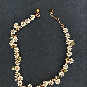 Crystal daisy crown necklace from Jcrew