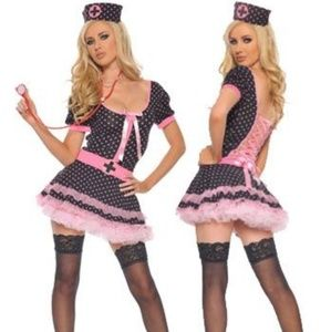 Midnight medic nurse costume