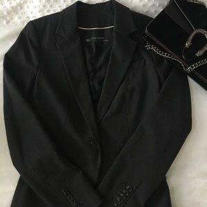 NWOT Zara grey blazer