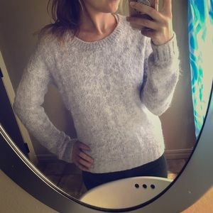 Cozy Periwinkle Sweater