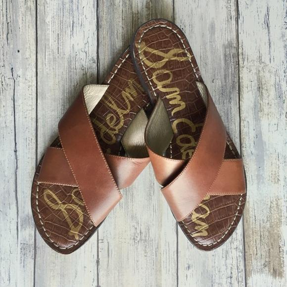 74adddc9338a Sam Edelman  KORA  Brown Slide Sandal Size 8. M 59c97cd84225beb0c208c860