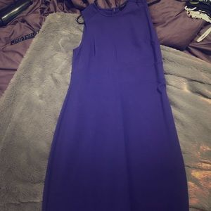 Blue/Purple Ann Taylor dress. Fitted size 6.