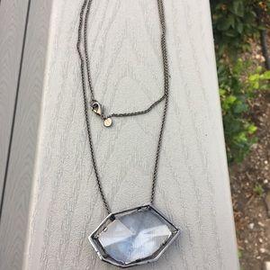 Alexis Bittar Glass Pendant Necklace