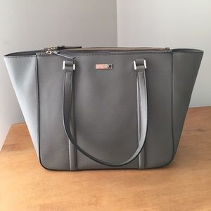 Kate Spade Newbury Lane Briar Tote Gray, Like New