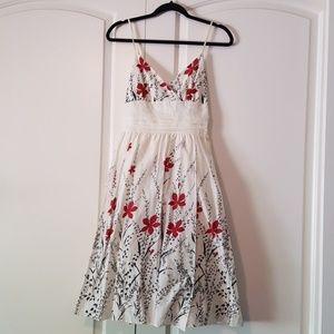 Max Studio Cotton Floral Dress