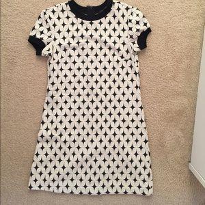 Sparkle pattern mini dress