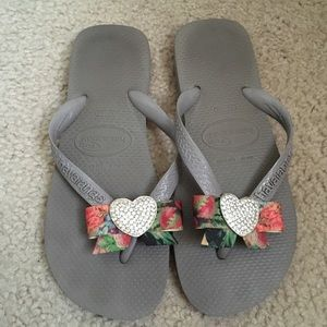 CUSTOM Havaianas with Bling