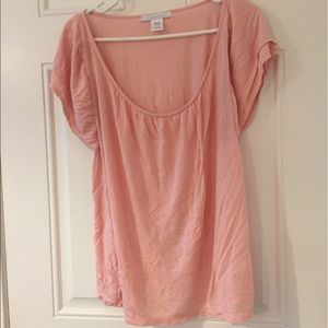 Pink shimmer tee
