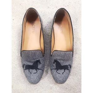 {J.Crew} Addie Gallop Loafers