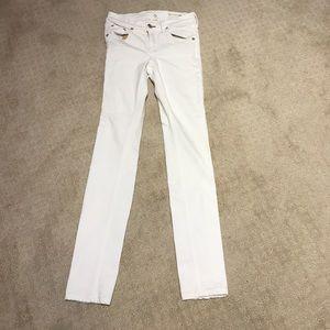 Pants - Rag and bone skinny white jean sz 25