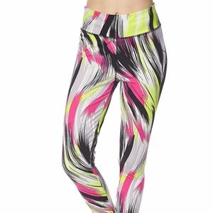 NWT Active Sport Wear Digital Print Yoga leggings